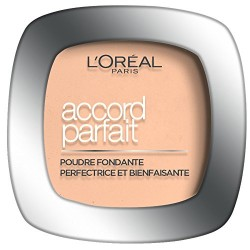 fond de teint poudre compacte accord parfait l 39 oreal. Black Bedroom Furniture Sets. Home Design Ideas