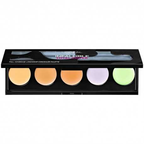 PALETTE CORRECTRICE INFAILLIBLE TOTAL COVER L'OREAL