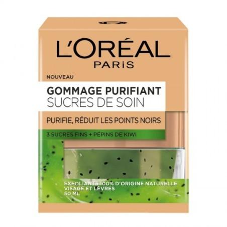 GOMMAGE PURIFIANT SUCRES DE SOIN L'OREAL