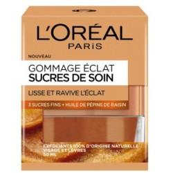 GOMMAGE ECLAT SUCRES DE SOIN L'OREAL