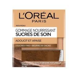 GOMMAGE NOURRISSANT SUCRES DE SOIN L'OREAL
