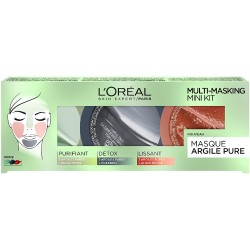 COFFRET ARGILE PURE MULTI MASQUE L'OREAL