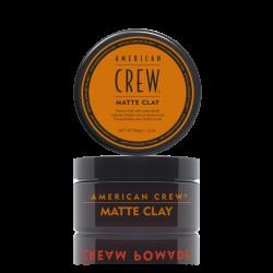 CIRE DE COIFFAGE 85G MATTE CLAY AMERICAN CREW