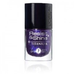 VERNIS RESIST AND SHINE TITANIUM L'OREAL